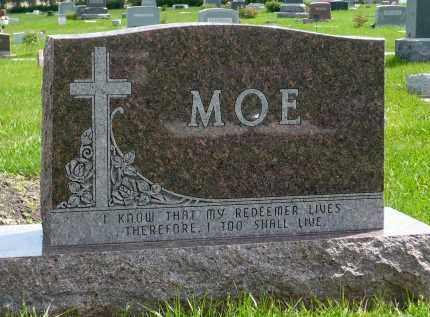 MOE, FAMILY MAKER - Minnehaha County, South Dakota | FAMILY MAKER MOE - South Dakota Gravestone Photos