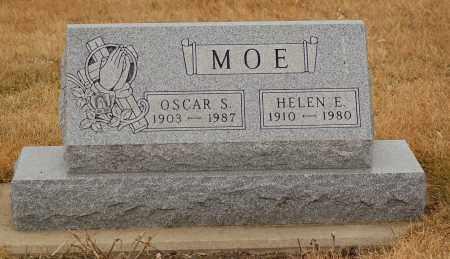 MOE, HELEN E. - Minnehaha County, South Dakota   HELEN E. MOE - South Dakota Gravestone Photos