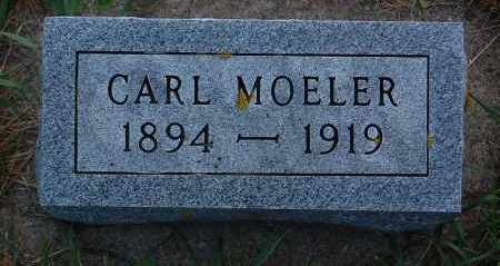 MOELER, CARL - Minnehaha County, South Dakota | CARL MOELER - South Dakota Gravestone Photos