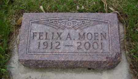 MOEN, FELIX A. - Minnehaha County, South Dakota | FELIX A. MOEN - South Dakota Gravestone Photos