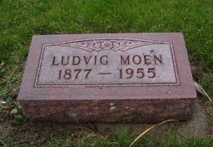 MOEN, LUDVIG - Minnehaha County, South Dakota | LUDVIG MOEN - South Dakota Gravestone Photos
