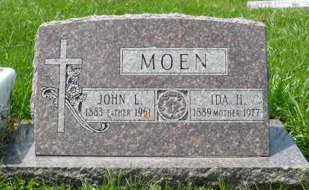HILMOE MOEN, IDA H. - Minnehaha County, South Dakota | IDA H. HILMOE MOEN - South Dakota Gravestone Photos