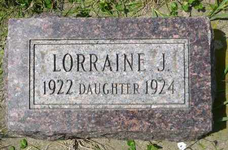 MOEN, LORRAINE J. - Minnehaha County, South Dakota | LORRAINE J. MOEN - South Dakota Gravestone Photos