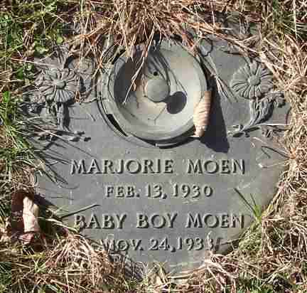 MOEN, BABY BOY - Minnehaha County, South Dakota | BABY BOY MOEN - South Dakota Gravestone Photos