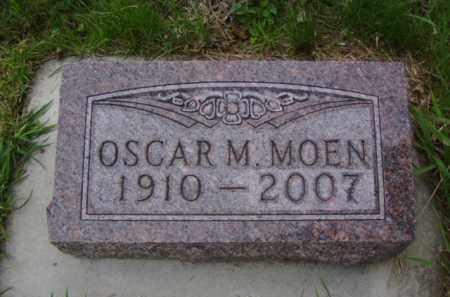 MOEN, OSCAR M. - Minnehaha County, South Dakota | OSCAR M. MOEN - South Dakota Gravestone Photos