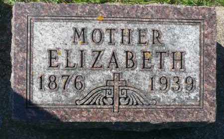 MOES, ELIZABETH - Minnehaha County, South Dakota   ELIZABETH MOES - South Dakota Gravestone Photos