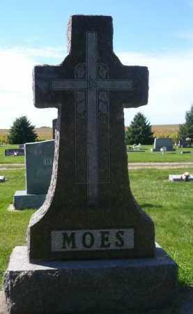 MOES, FAMILY MARKER - Minnehaha County, South Dakota | FAMILY MARKER MOES - South Dakota Gravestone Photos