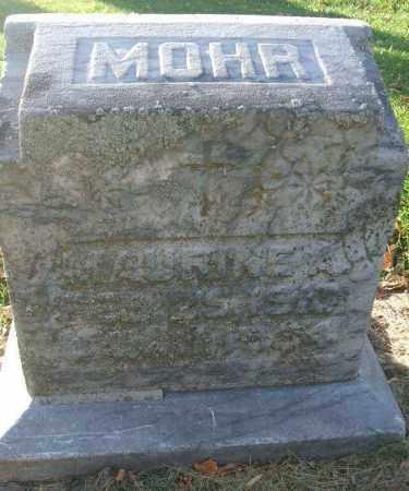 MOHR, MAURINE A. - Minnehaha County, South Dakota | MAURINE A. MOHR - South Dakota Gravestone Photos