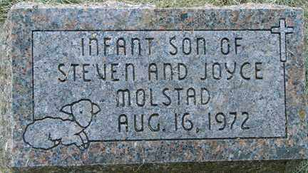MOLSTAD, INFANT SON - Minnehaha County, South Dakota | INFANT SON MOLSTAD - South Dakota Gravestone Photos