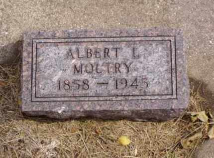 MOLTRY, ALBERT L. - Minnehaha County, South Dakota | ALBERT L. MOLTRY - South Dakota Gravestone Photos