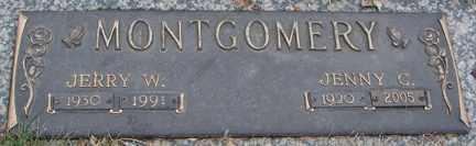MONTGOMERY, JENNY C. - Minnehaha County, South Dakota   JENNY C. MONTGOMERY - South Dakota Gravestone Photos