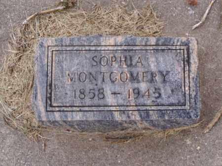 MONTGOMERY, SOPHIA - Minnehaha County, South Dakota | SOPHIA MONTGOMERY - South Dakota Gravestone Photos