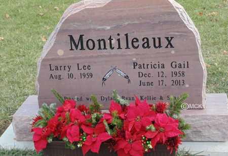 MONTILEAUX, PATRICIA GAIL - Minnehaha County, South Dakota   PATRICIA GAIL MONTILEAUX - South Dakota Gravestone Photos