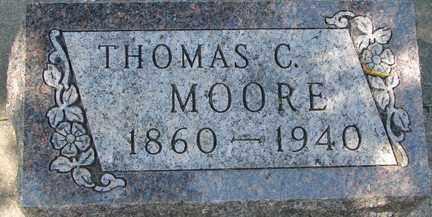 MOORE, THOMAS C. - Minnehaha County, South Dakota | THOMAS C. MOORE - South Dakota Gravestone Photos