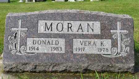MORAN, DONALD - Minnehaha County, South Dakota | DONALD MORAN - South Dakota Gravestone Photos