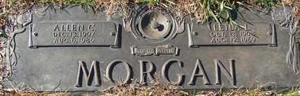 MORGAN, LEIDA LUCILLE - Minnehaha County, South Dakota   LEIDA LUCILLE MORGAN - South Dakota Gravestone Photos