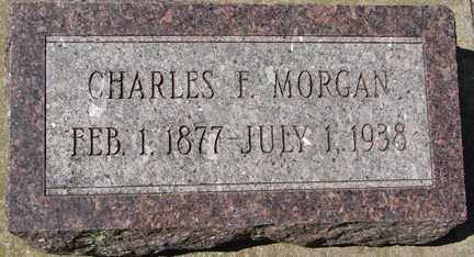 MORGAN, CHARLES F. - Minnehaha County, South Dakota   CHARLES F. MORGAN - South Dakota Gravestone Photos
