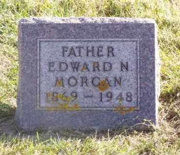 MORGAN, EDWARD N. - Minnehaha County, South Dakota | EDWARD N. MORGAN - South Dakota Gravestone Photos