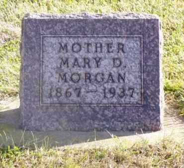 MORGAN, MARY D. - Minnehaha County, South Dakota   MARY D. MORGAN - South Dakota Gravestone Photos
