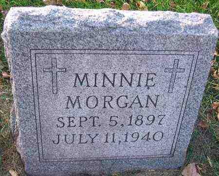 MORGAN, MINNIE - Minnehaha County, South Dakota   MINNIE MORGAN - South Dakota Gravestone Photos
