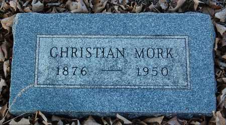 MORK, CHRISTIAN - Minnehaha County, South Dakota | CHRISTIAN MORK - South Dakota Gravestone Photos