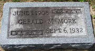 MORK, GERALD M. - Minnehaha County, South Dakota | GERALD M. MORK - South Dakota Gravestone Photos