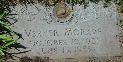 MORKVE, VERNER - Minnehaha County, South Dakota | VERNER MORKVE - South Dakota Gravestone Photos