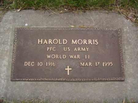 MORRIS, HAROLD - Minnehaha County, South Dakota | HAROLD MORRIS - South Dakota Gravestone Photos