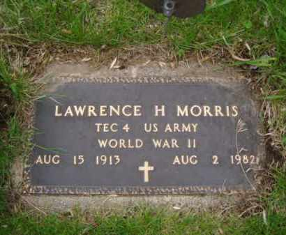 MORRIS, LAWRENCE H. - Minnehaha County, South Dakota | LAWRENCE H. MORRIS - South Dakota Gravestone Photos