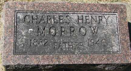 MORROW, CHARLES HENRY - Minnehaha County, South Dakota | CHARLES HENRY MORROW - South Dakota Gravestone Photos