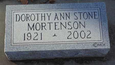 MORTENSON, DOROTHY ANN - Minnehaha County, South Dakota | DOROTHY ANN MORTENSON - South Dakota Gravestone Photos