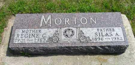 MORTON, SILAS A. - Minnehaha County, South Dakota | SILAS A. MORTON - South Dakota Gravestone Photos