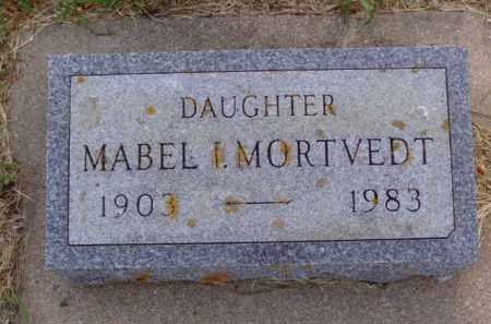 MORTVEDT, MABEL I. - Minnehaha County, South Dakota | MABEL I. MORTVEDT - South Dakota Gravestone Photos