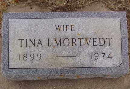 MORTVEDT, TINA I. - Minnehaha County, South Dakota | TINA I. MORTVEDT - South Dakota Gravestone Photos