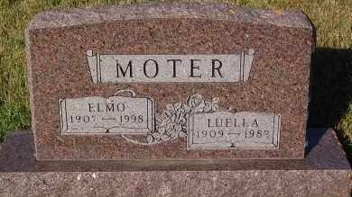 MOTER, LUELLA - Minnehaha County, South Dakota | LUELLA MOTER - South Dakota Gravestone Photos