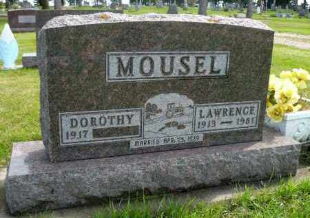 MOUSEL, DOROTHY - Minnehaha County, South Dakota | DOROTHY MOUSEL - South Dakota Gravestone Photos