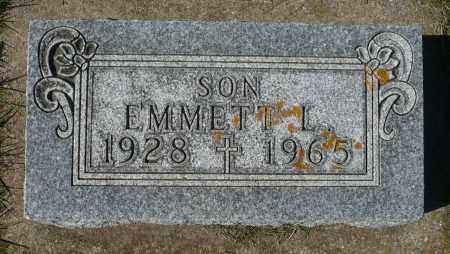 MOUSEL, EMMETT L. - Minnehaha County, South Dakota   EMMETT L. MOUSEL - South Dakota Gravestone Photos