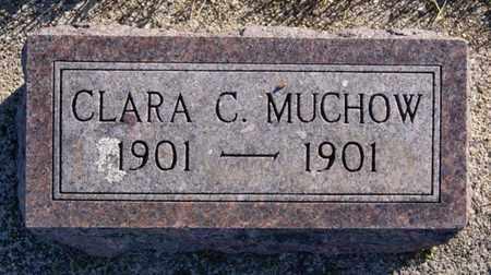 MUCHOW, CLARA C - Minnehaha County, South Dakota | CLARA C MUCHOW - South Dakota Gravestone Photos