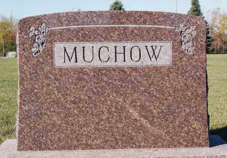 MUCHOW, FAMILY MARKER - Minnehaha County, South Dakota | FAMILY MARKER MUCHOW - South Dakota Gravestone Photos