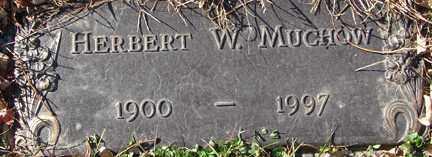 MUCHOW, HERBERT W. - Minnehaha County, South Dakota | HERBERT W. MUCHOW - South Dakota Gravestone Photos