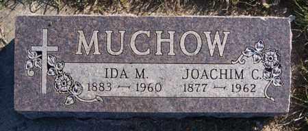 MUCHOW, JOACHIM C - Minnehaha County, South Dakota | JOACHIM C MUCHOW - South Dakota Gravestone Photos