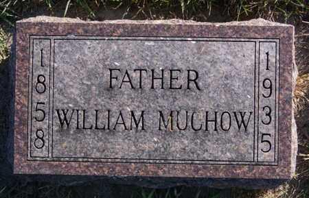 MUCHOW, WILLIAM - Minnehaha County, South Dakota   WILLIAM MUCHOW - South Dakota Gravestone Photos