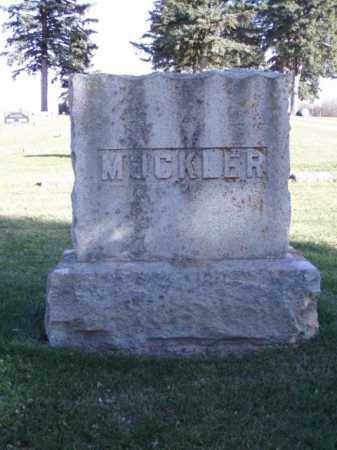MUCKLER, FAMILY MARKER - Minnehaha County, South Dakota | FAMILY MARKER MUCKLER - South Dakota Gravestone Photos
