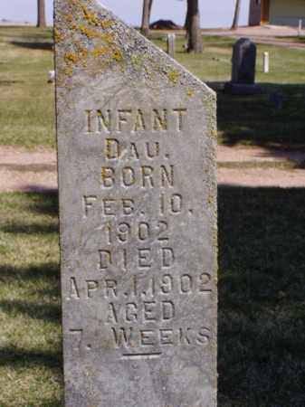 MUCKLER, INFANT DAUGHTER - Minnehaha County, South Dakota | INFANT DAUGHTER MUCKLER - South Dakota Gravestone Photos