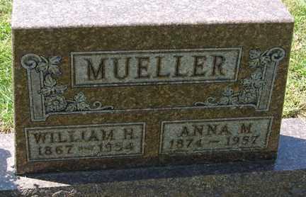 MUELLER, ANNA M. - Minnehaha County, South Dakota | ANNA M. MUELLER - South Dakota Gravestone Photos