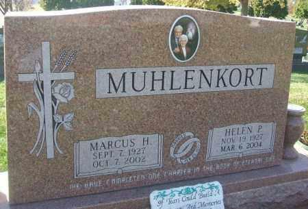 MUHLENKORT, MARCUS H. - Minnehaha County, South Dakota | MARCUS H. MUHLENKORT - South Dakota Gravestone Photos