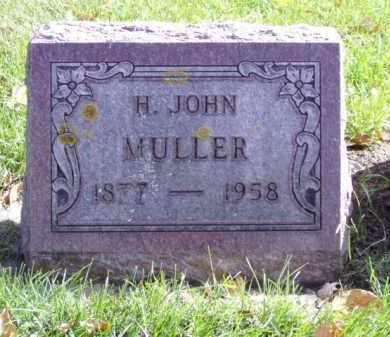 MULLER, H.JOHN - Minnehaha County, South Dakota | H.JOHN MULLER - South Dakota Gravestone Photos