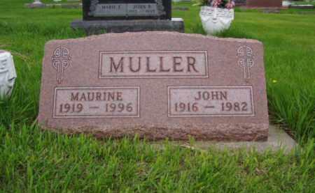 MULLER, JOHN - Minnehaha County, South Dakota | JOHN MULLER - South Dakota Gravestone Photos