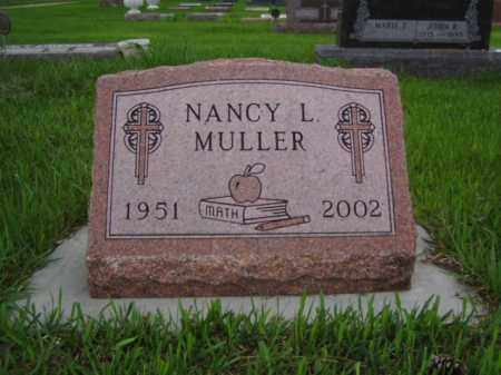 MULLER, NANCY L. - Minnehaha County, South Dakota | NANCY L. MULLER - South Dakota Gravestone Photos