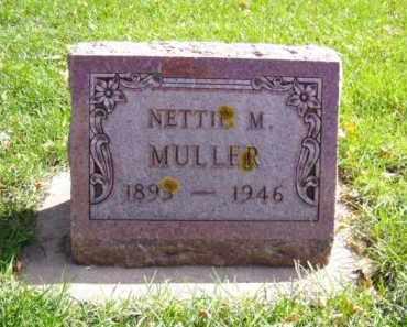 MULLER, NETTIE M. - Minnehaha County, South Dakota | NETTIE M. MULLER - South Dakota Gravestone Photos